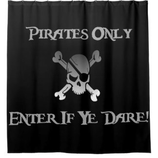 Pirates Only - Enter If Ye Dare! Funky Skull