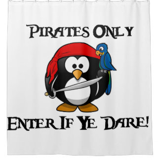 Pirates Only - Enter If Ye Dare! - Penguin Pirate