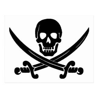 Pirates Post Card