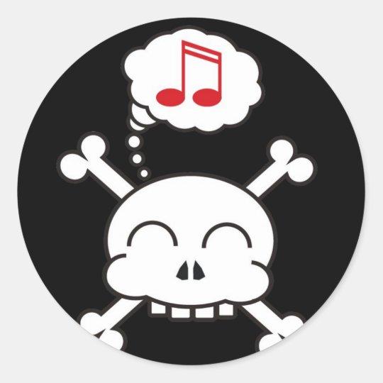 pirates R happy sticker
