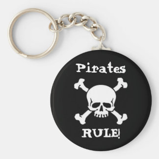 Pirates Rule! Keychain