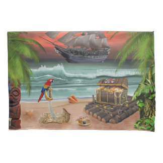 PIRATES TREASURE QUEST PILLOWCASE