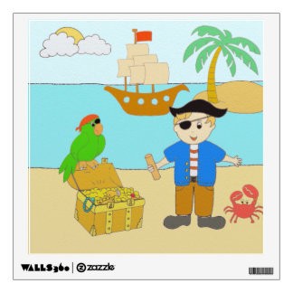 Pirates Wall Sticker