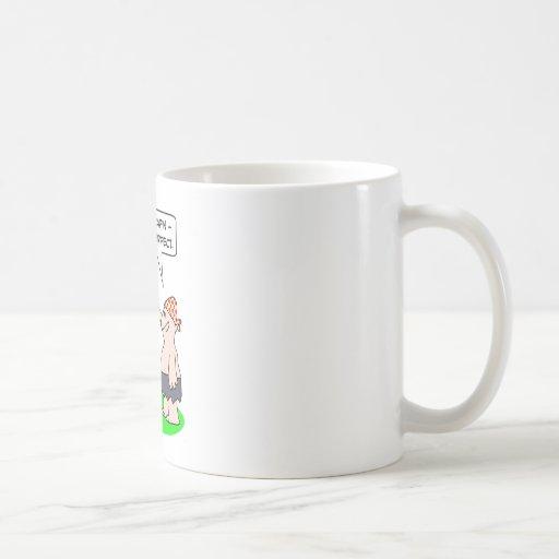 piratez la main parfaite de crochet de jambe de ch tasses à café