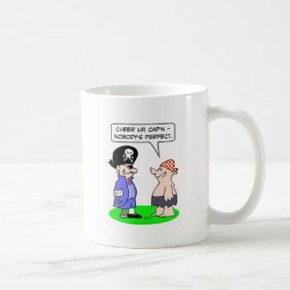 piratez la main parfaite de crochet de jambe de ch mugs à café