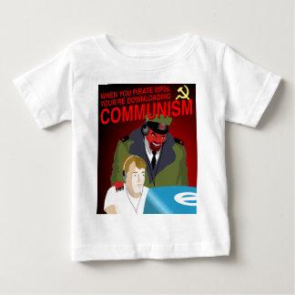 Pirating Music Is Communism Baby T-Shirt