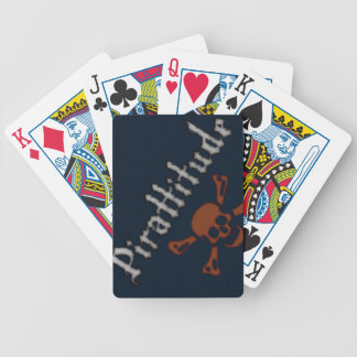 Pirattitude Bicycle Playing Cards
