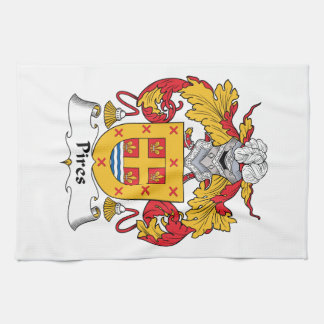 Pires Family Crest Kitchen Towel