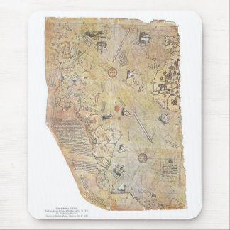 Piri Reis' World Map Mousepad