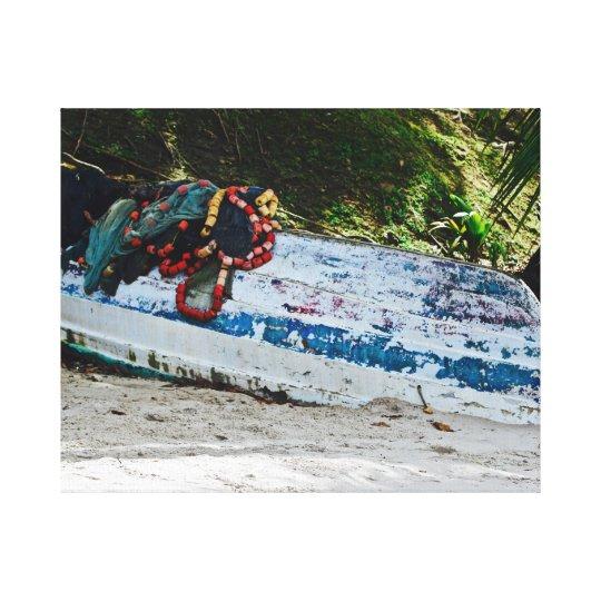 Pirogues - Corbeaux - Canvas Art - Maracas
