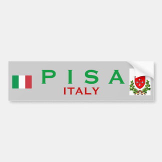 Pisa Bumper Sticker