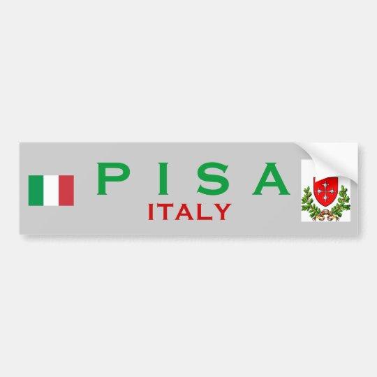 Pisa Bumper Sticker
