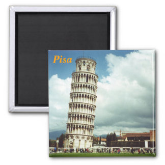 pisa fridge magnet