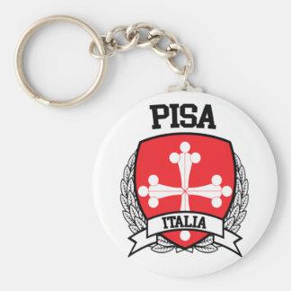 Pisa Keychain