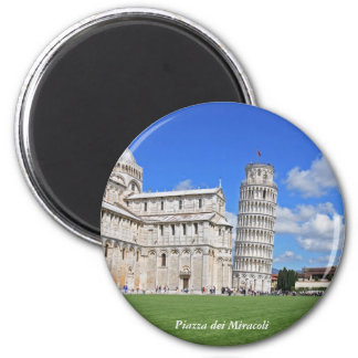 Pisa leaning tower magnet