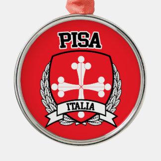 Pisa Metal Ornament