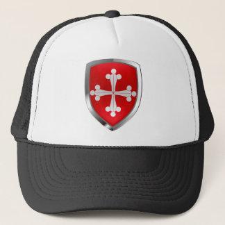 Pisa Mettalic Emblem Trucker Hat