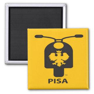 Pisa Scooter Magnet