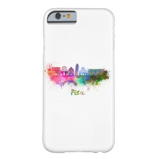 Pisa skyline in watercolor barely there iPhone 6 case