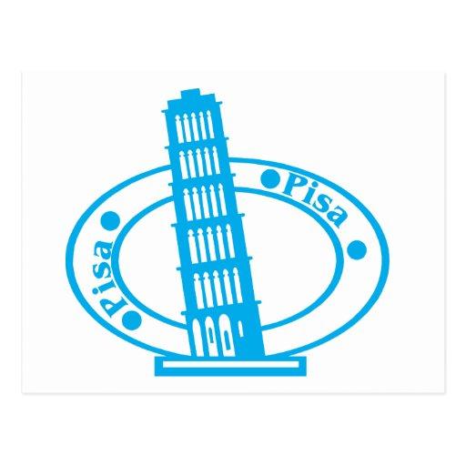 Pisa Stamp Post Card