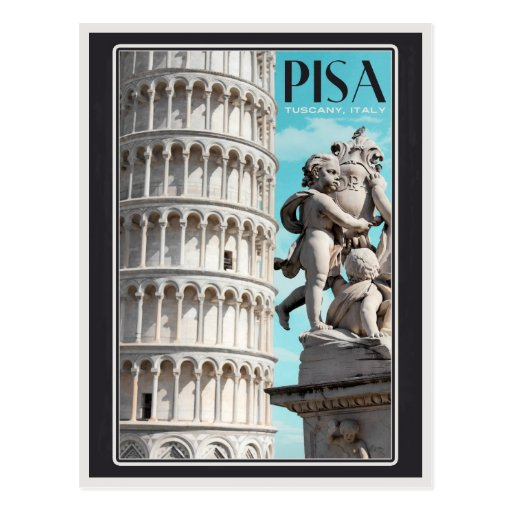 Pisa - the Leaning Tower Postcards