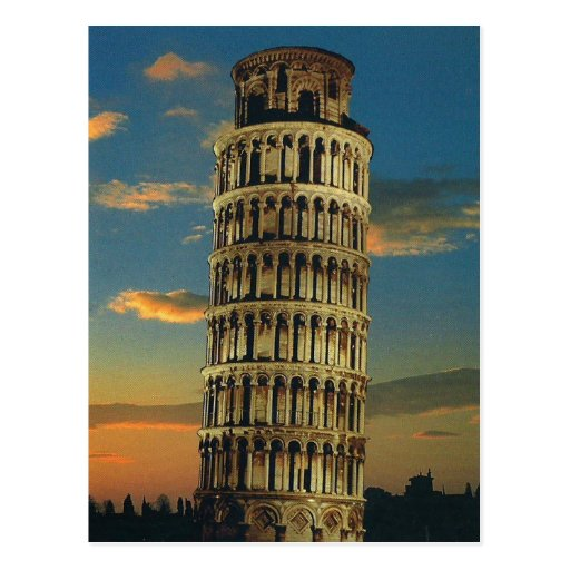 Pisa, The Leaning Tower Postcards