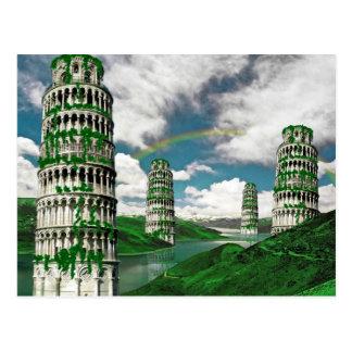 Pisa Tower Postcard