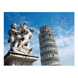 Pisa Tower Postcard
