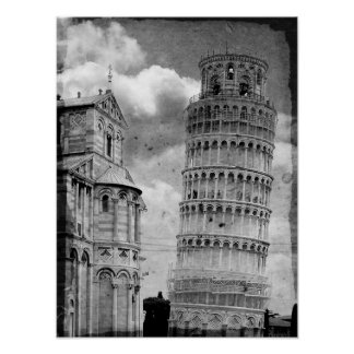 Pisa Tower Poster