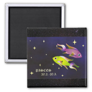 Pisces Astrological Horoscope Zodiac Sign Magnet
