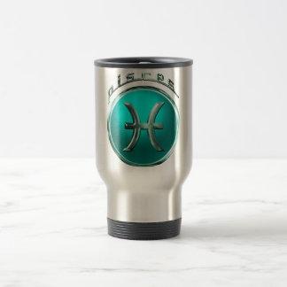 Pisces Astrological Sign Travel Mug