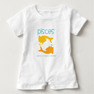 Pisces Baby Romper