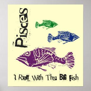 Big fish posters prints poster printing zazzle ca for Big fish printing