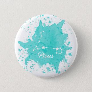 Pisces Blue Button