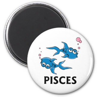 Pisces Cartoon Magnet