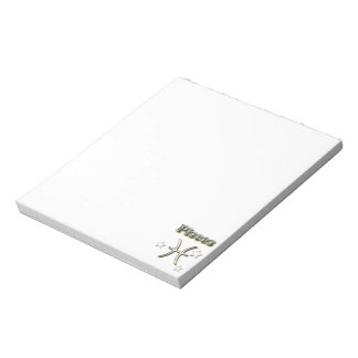 Pisces chrome symbol notepad