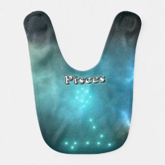 Pisces constellation bib