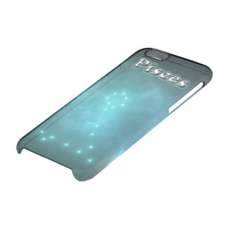Pisces constellation clear iPhone 6/6S case