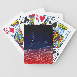 Pisces Constellation Design Bicycle Playing Cards