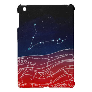 Pisces Constellation Design iPad Mini Case