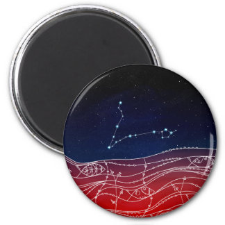 Pisces Constellation Design Magnet