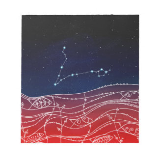 Pisces Constellation Design Notepads