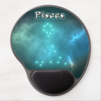 Pisces constellation gel mouse pad