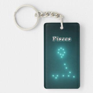 Pisces constellation keychain