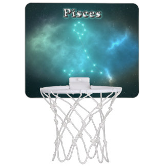 Pisces constellation mini basketball hoop