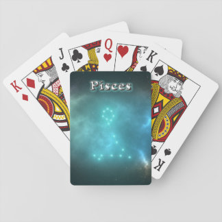 Pisces constellation playing cards