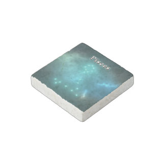 Pisces constellation stone magnets
