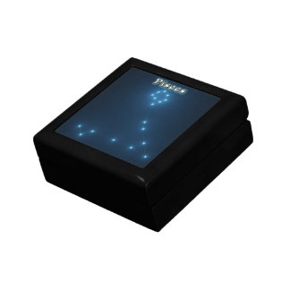 Pisces costellation gift box