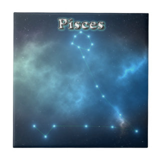 Pisces costellation tile