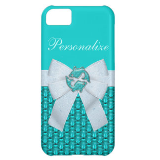 Pisces Fish Jewels & Bow iPhone 5C Case
